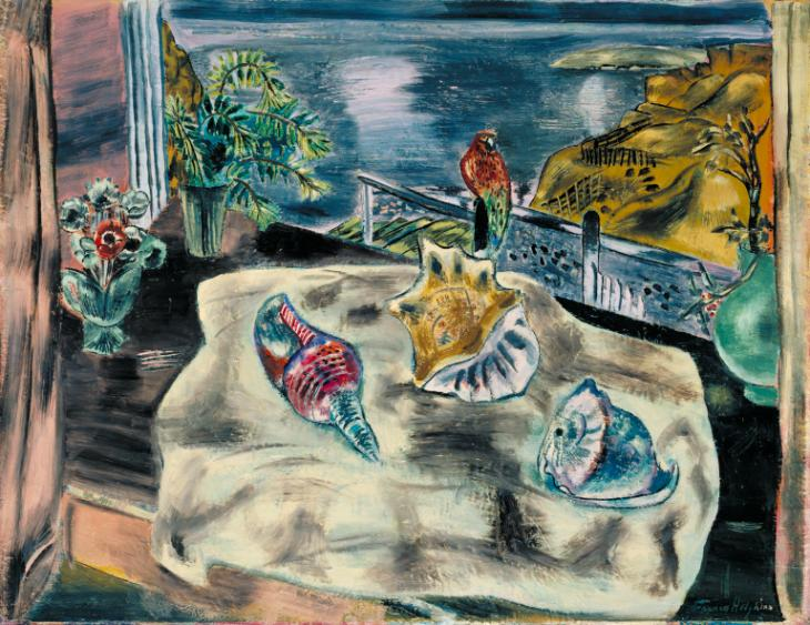 Wings over Water 1930 Frances Hodgkins 1869-1947